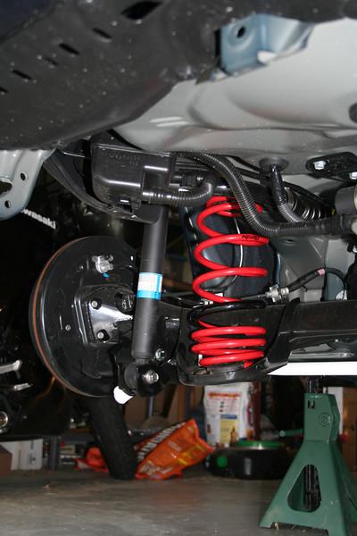 New rear spring installed