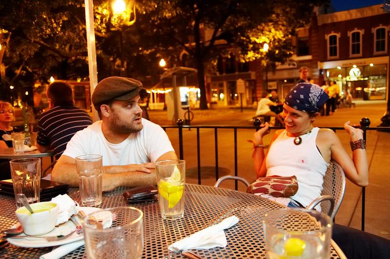 We dine at Tomato Head