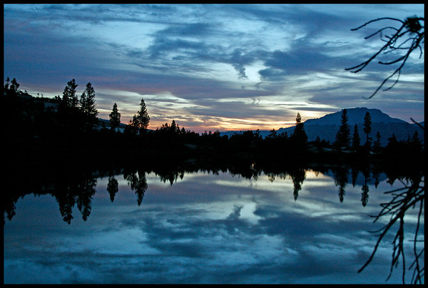 Painting with Light at Cathedral Lake