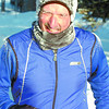 Citizen photo by David Mah Kelly Sharp was bundled and frosted up as he ran along Foothills Boulevard. The Sharp family is training for the family team category in the upcoming Iceman Relay.