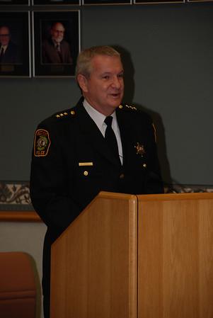 2009-02-17 Village Board Meeting (Officer Sedlmeier)