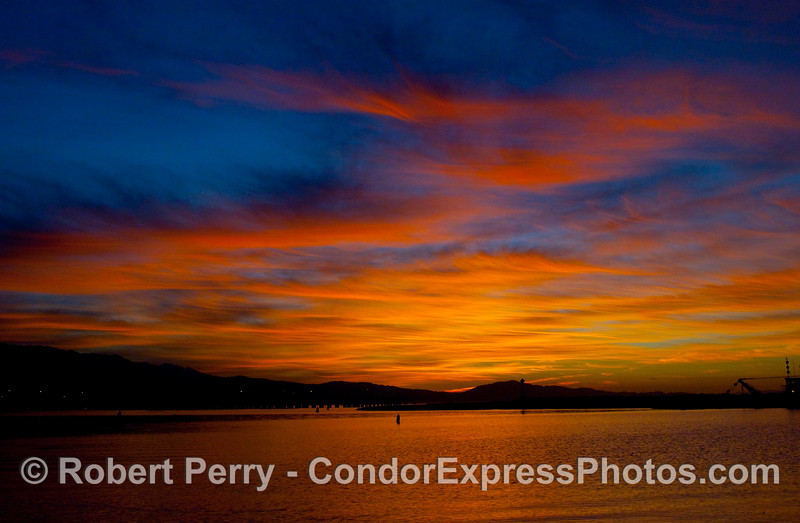 As a photographer, sometimes it pays to get up early.  Dawn - Santa Barbara Harbor.