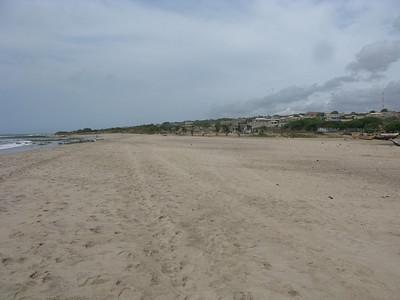 Beach in Tema