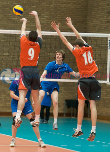 Men's Plate Final - Kilmarnock II v Dundee II, Wishaw Sport Centre, 18 April 2009.  © Lynne Marshall
