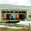 Giscome Elementary school which is 41 km east and 40 minutes from Prince George. Citizen Photo by David Mah