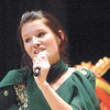 Genevieve Tucker sings a Punjabi Song. Citizen photo by Brent Braaten