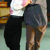 Ken Kilcullen, is Henry Higgins, and Deborah Curry, is Eliza Doolittle, in My Fair Lady.  Citizen photo by David Mah