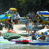 The boat launch at Wilson Park was very busy this weekend as people were looking for a way to beat the heat this weekend. citizen photo by Brent Braaten