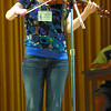 Faith Gole competes in the Old Time Fiddlers contest at Blacburn Hall Saturday. It was a B.C. Championship Contest put on by the BC Old Time Fiddlers Association Branch 1(Prince George). Citizen photo by Brent Braaten