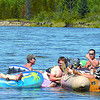 The Nechako River was full of people trying to beat the heat this weekend. Thanks to Howies Marine the Citizen was able to get a ride on a jet boat to capture the fun. Citizen photo by Brent Braaten