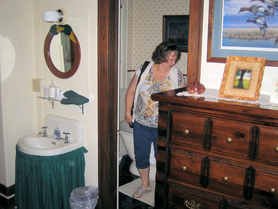 Pic 4, Duck Room, Vine Cottage Inn, Deb my wife.