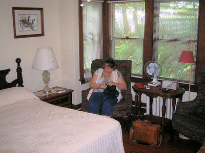 Pic 3, Duck Room, Vine Cottage Inn, Deb my wife.
