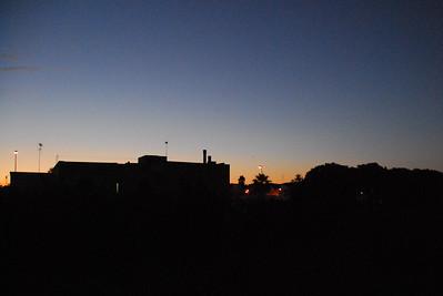 Sunset in Spongano