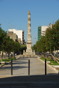 Lecce has an obelisk like Rome only not stolen from the Egyptians. :-)