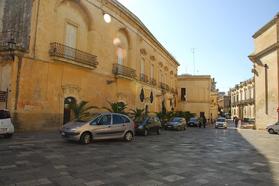 The streets of Lecce