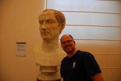 Patrick with Julius Caesar