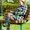 Lana Monai, from Beaumont, Alberta, takes some time to read in Fort George Park, during a visit to Prince George. People were enjoying the sun while it was out Thursday afternoon. Citizen photo by David Mah