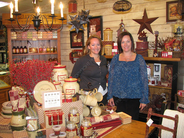 Citizen staff photo Shari and Tracey Green are owners of J.J. Springer & Company, a home furnishings and gift ware store on Specialty Avenue.