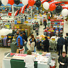 It was very busy Thursday morning at the grand opening of the redesigned Canadian Tire.  Excellent deals and savings drew crowds to see the new layout of the store. Trevor Linden will make an appearence in the store on Sunday between 1pm-3pm.  Citizen photo by Brent Braaten