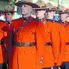 A large group of members represented the Royal Canadian Mounted Police. Citizen photo by David Mah