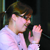 Mira Salo was one of 6 singers in the UNBC Idol contest put on by the Northern Undergraduate Student Society Wednesday night at the Thirsty Moose. Salo sang the theme song the Titianic, and Somewhere over the Rainbow in Finnish. UNBC Idol is held every 2nd Wednesday. Citizen photo by David Mah