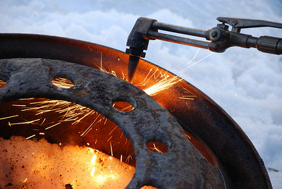2009 Cutting Torch in Action