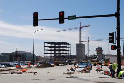 2009 Downtown Des Moines Construction
