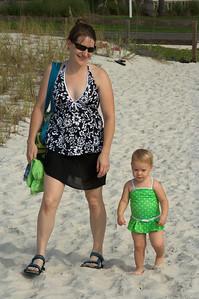 Amanda (pregnant!) and Wendy Barre