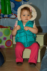 Cute puffy vest from Aunt Stella