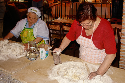"Monte due Torri Restaurant ""Making gnocchi"""
