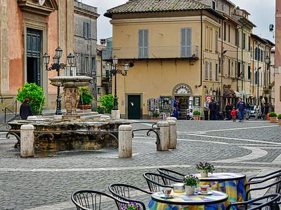 Castelgandolfo main square