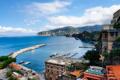 View from Sorrento of Coastline