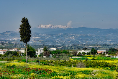 Countryside view from Ancient Corinth