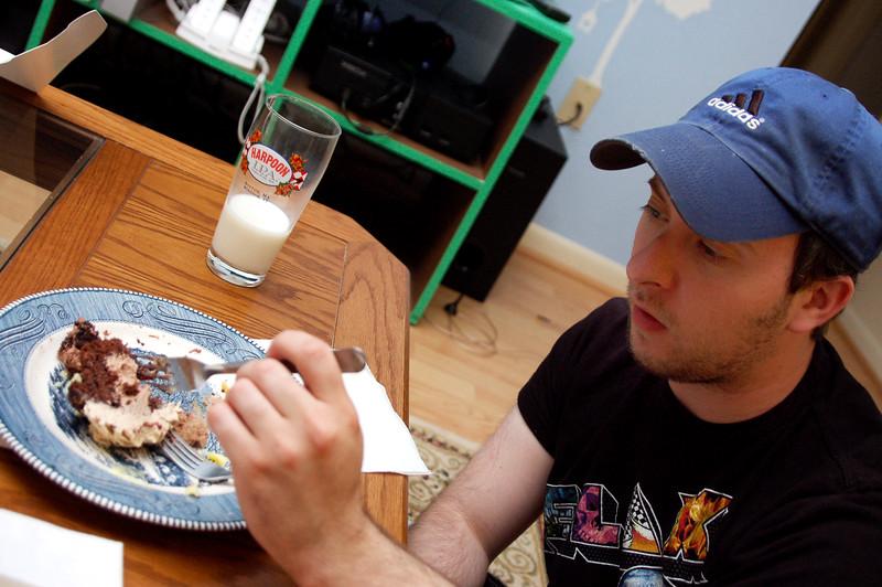 Must .... finish .... cupcake ....