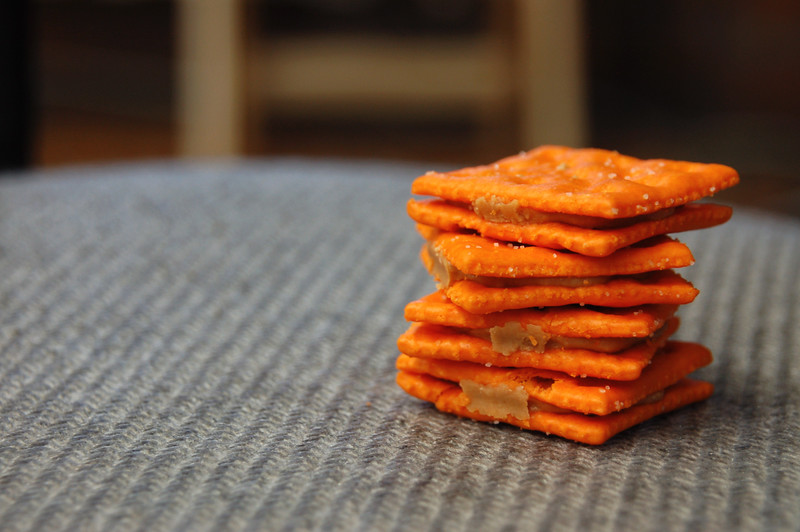 2/12: Orange Crackers
