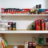 Our New Spice Shelf!