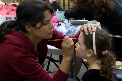 Our All Volunteer Face Painters