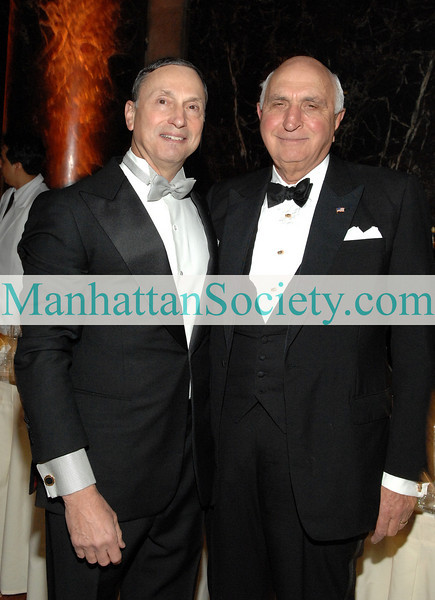 NEW YORK-MAY 5: Robert I. Grossman, M.D., Dean and CEO of the Medical Center and benefactor Kenneth Langone attend 2009 Violet Ball Honoring Susan and Martin Lipton to Benefit NYU Langone Medical Center on Tuesday, May 5, 2009  at Cipriani 42nd Street, 110 East 42nd Street, (Between Lexington & Park Avenues), New York City, NY 10017   (Photo Credit: ©ManhattanSociety.com by Christopher London)