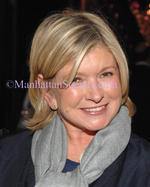 NEW YORK-JANUARY 22: Martha Stewart attends Winter Antiques Show Opening Night Gala Preview Benefit Party for East Side House Settlement at Park Avenue Armory, New York City, NY on  Thursday, January 22, 2009 (Photo Credit: Stuart Rinzler/ManhattanSociety.com)