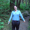 Christy posing for a wet t-shirt contest - woohoo!