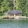 this was one of the nicer floating homes in Shoal Harbor