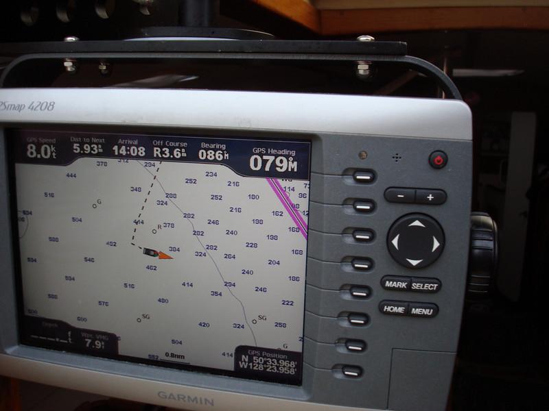 Making 8 knots!