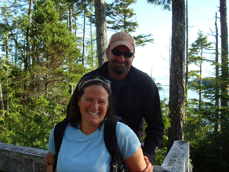 at the lookout halfway to the hot springs