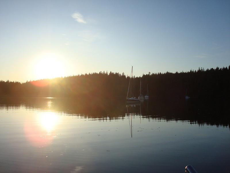 anchored in Joe's Cove