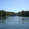 Kelly and Scottie kayaking