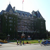 The Empress Hotel in Victoria