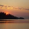 sunset over Tsehum Harbor