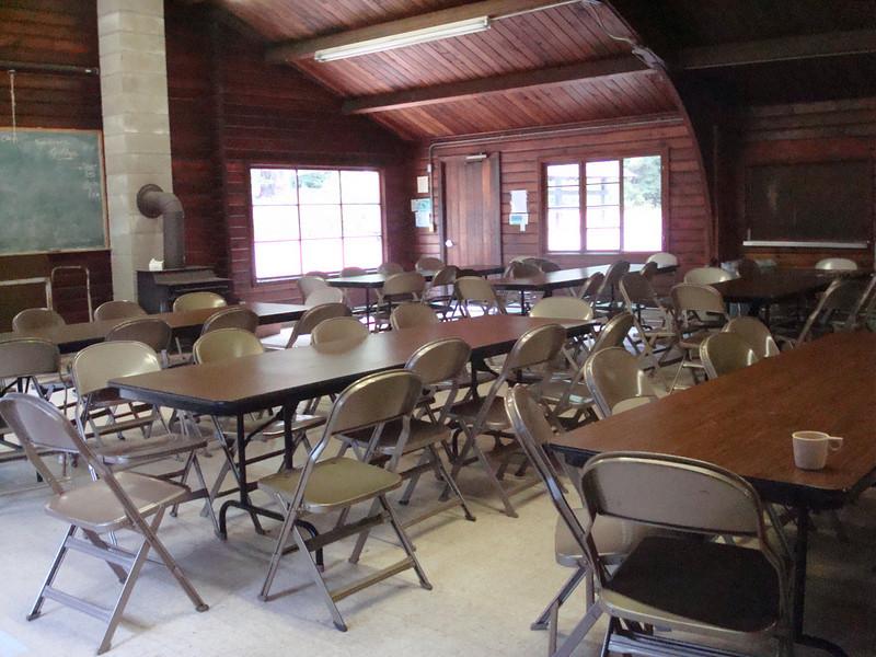 main lodge at Camp Moran