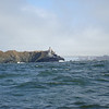 sailing past Bonita Head into the entrance to SF