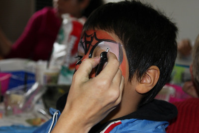 Face Painting- Thanks to ALL our great facepainters!